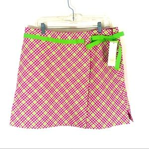 Lizgolf   Pink Green Skort (R20)